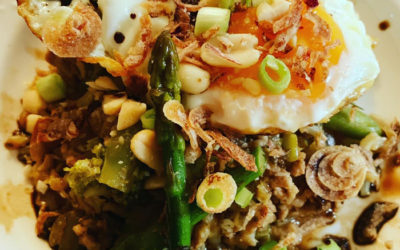 Asian Pork Mince with Brown Rice and Chia