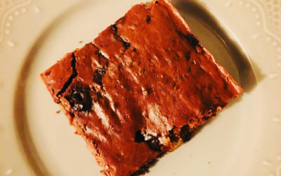 Double Choc Chip Protein Slice