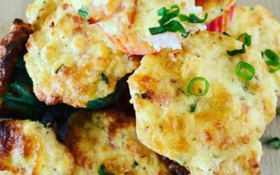 Ham, Cheese and Pineapple Mini Muffins