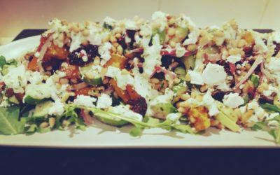 Beetroot, Pumpkin & Feta Salad