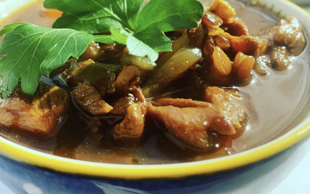 Curried Lamb & Lentil Soup
